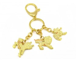 Family Pack 4 Pieces - 3 Celestial Guardians with Implements Keychain