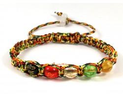 5 Element Crystal Adjustable Bracelet