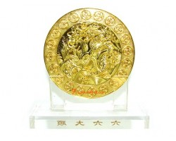 6 Heaven Gold Coin Plaque