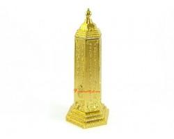 6 inch Golden Mantra Pagoda