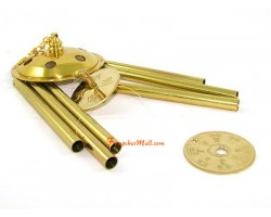 3 inch 6-rod All-metal Bagua Windchime