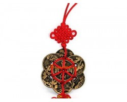 8 Immortals Coins Lucky Charm Tassel