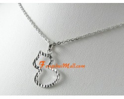 925 Silver Wu Lou Pendant with Chain