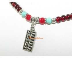 Abacus Beaded Necklace