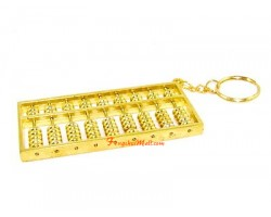 Feng Shui Abacus Keychain (L)