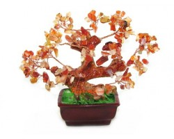 Agate WishFulfilling Feng Shui Crystal Tree