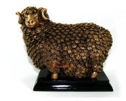 Auspicious Sheep with Prosperity Coins Fur