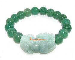 Jade Pi Yao Aventurine Lucky Charm Bracelet