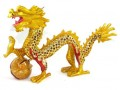 Bejeweled Good Fortune Feng Shui Dragon (L)
