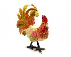 Bejeweled Wish-Fulfilling Rooster