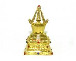 Bejeweled Golden Stupa