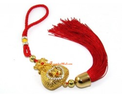 Bejeweled Wealth Bag Tassel