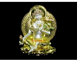 Bejeweled Fertility White Tara