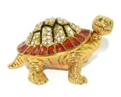 Bejeweled Wish-Fulfilling Golden Tortoise