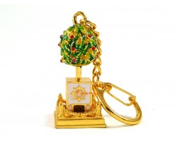 Bejeweled Wish-Granting Tree Keychain