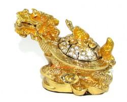 Bejeweled Wishfulfilling Dragon Tortoise