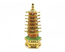 Bejeweled WishFulfilling 7-Storey Feng Shui Pagoda