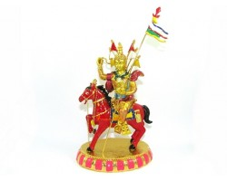 Bejewelled King Gesar of Ling on WindHorse