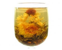 Blooming Flower Tea - Double Dragon Sprouting a Pearl (7 pieces)