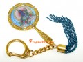 Blue Tara Mirror Keychain