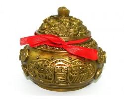 Brass Feng Shui Wealth Pot (s)