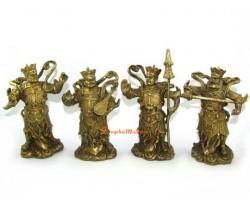 Brass Four Heavenly Gods (L)
