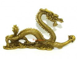 Brass Imperial Dragon for Success