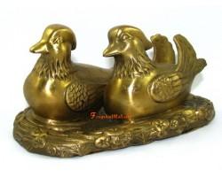 Brass Mandarin Ducks