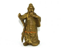 Brass Mini Standing Kwan Kung