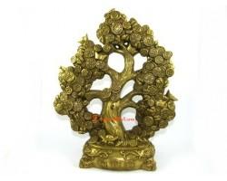 Brass Money Coin Tree