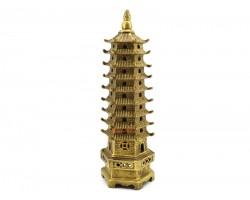 Brass Nine Level Feng Shui Pagoda