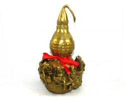 Brass Wu Lou with 3d Eight Immortals (L)