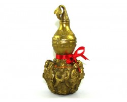 Brass Wulou with 3d Eight Immortals
