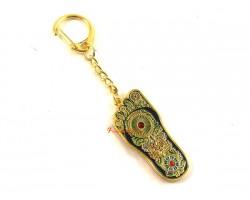 Buddha Foot Keychain