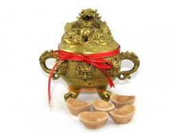 Feng Shui Dragon Incense Burner