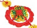 Multi-color Flowery Mystic Knot Tassel