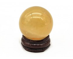 Citrine Crystal Ball (s) for Wealth Luck