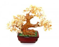Citrine Crystal Tree to Attract Wealth