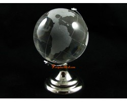 Clear Crystal Globe (l)