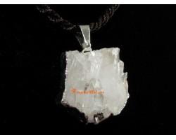 Clear Quartz Cluster Crystal Pendant