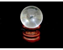 Clear Quartz Crystal Ball