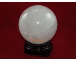 Clear Quartz Crystal Ball (L)