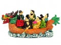Colorful Eight Immortals On Boat (s)