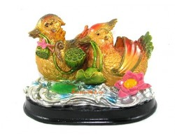 Colorful Mandarin Ducks for Good Marriage Luck