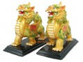 Pair of Feng Shui Colorful Pi Yao