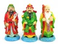 Colorful Fu Lu Shou - Three Star Deities