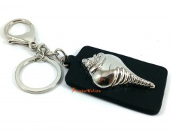 Conch Shell Keyring