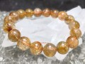 Copper Titanium Rutilated Quartz Bracelet (Top Grade)