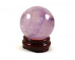High Grade Crystal Ball Amethyst