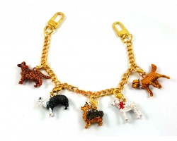 Dog Charm for Handbag